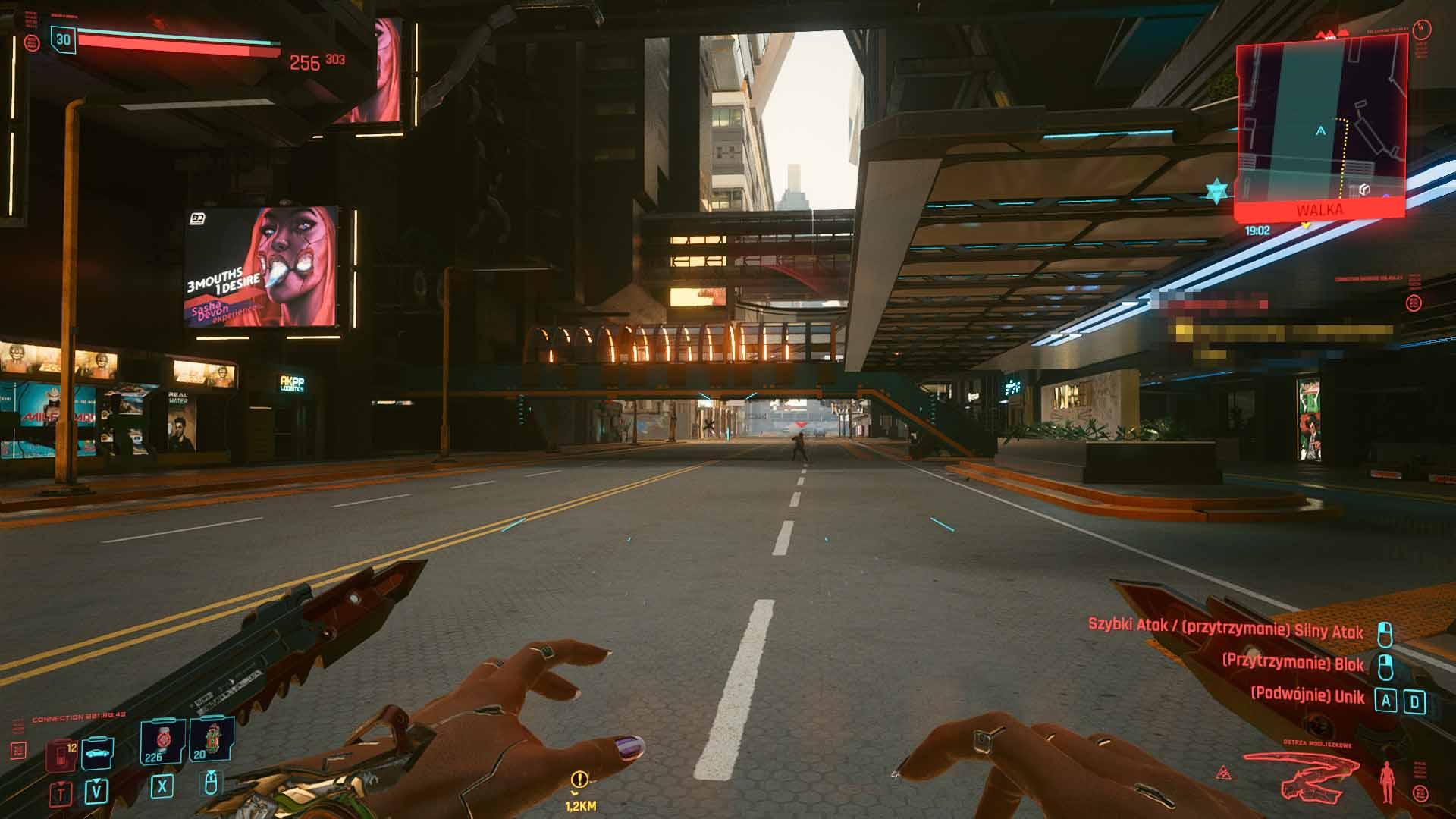 Cyberpunk 2077 - ulica