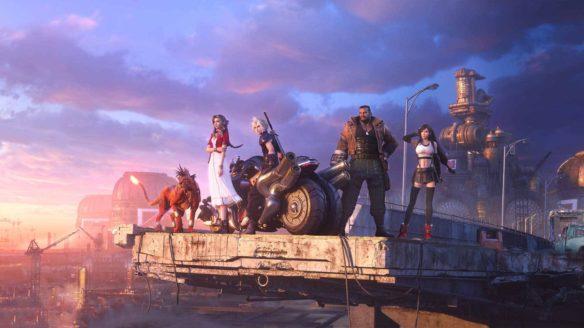 Final Fantasy VII Remake bohaterowie