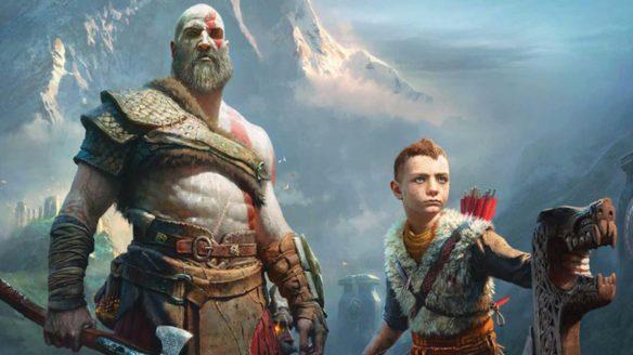 God of War - Kratos i Atreus