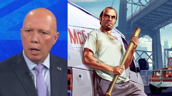 GTA V i Peter Dutton