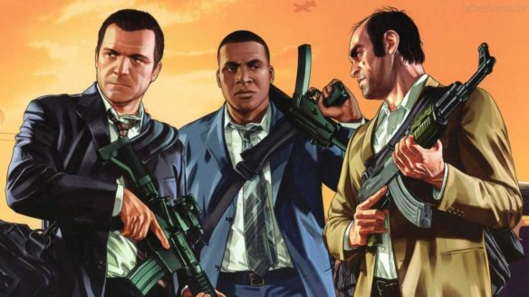 GTA V - Michael, Franklin i Trevor
