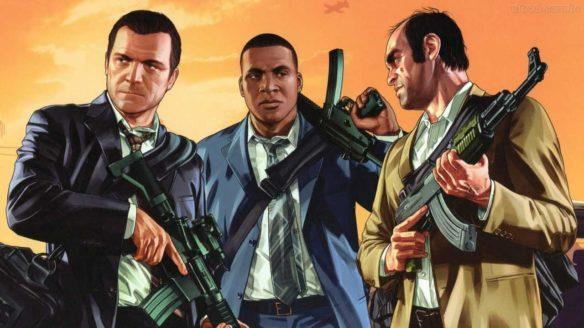 GTA V - Michael, Franklin i Trevor