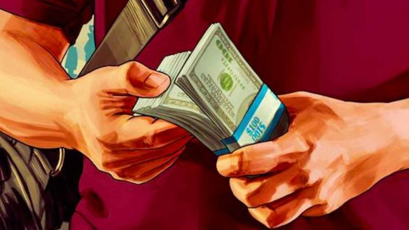 GTA V - pieniądze