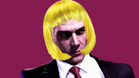 Hitman czupryna blond