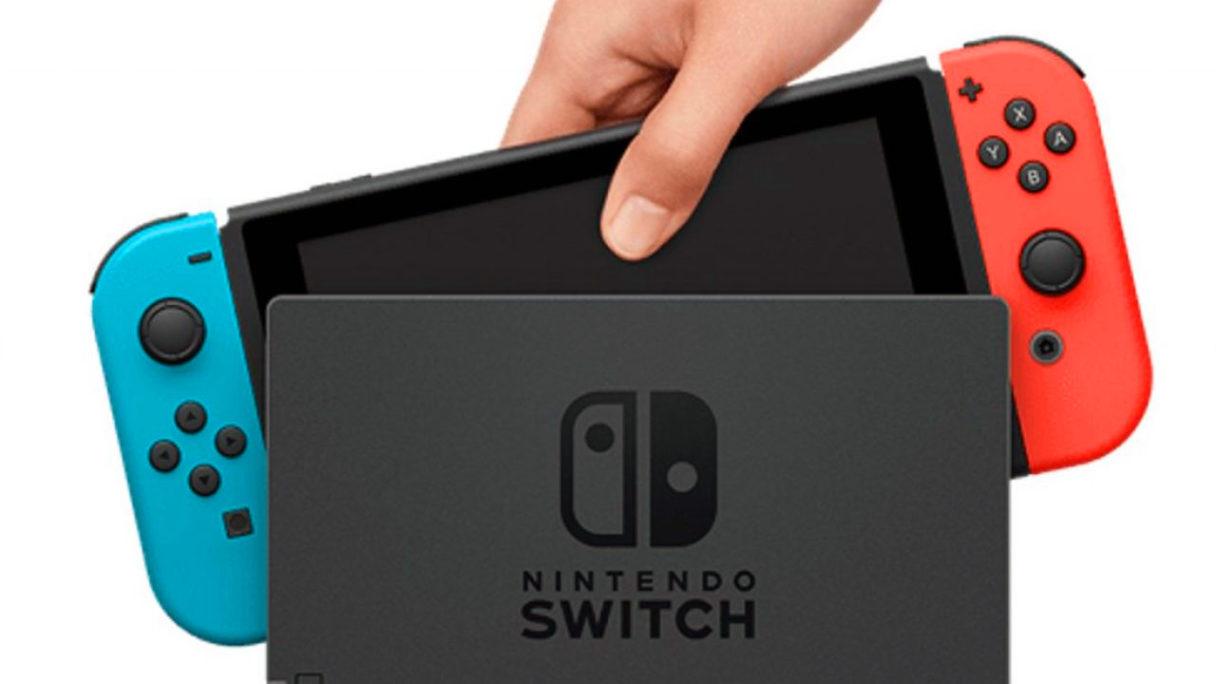 Nintendo Switch - konsola w doku