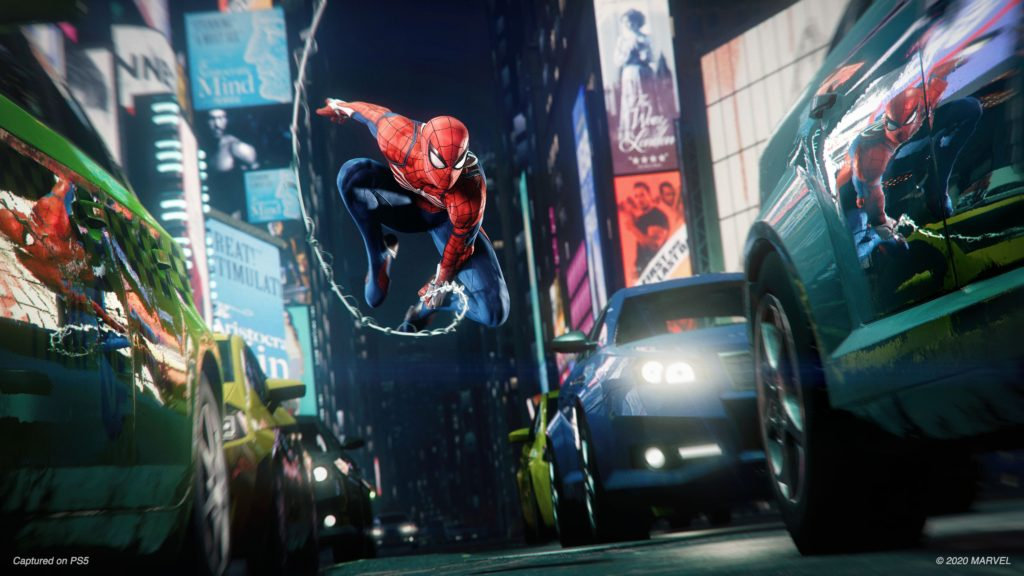 Spider-Man Miles Morales na PS5