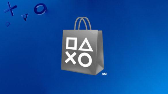 PS Store - czarno białe logo