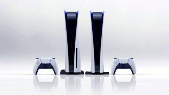 PS5 dwie konsole