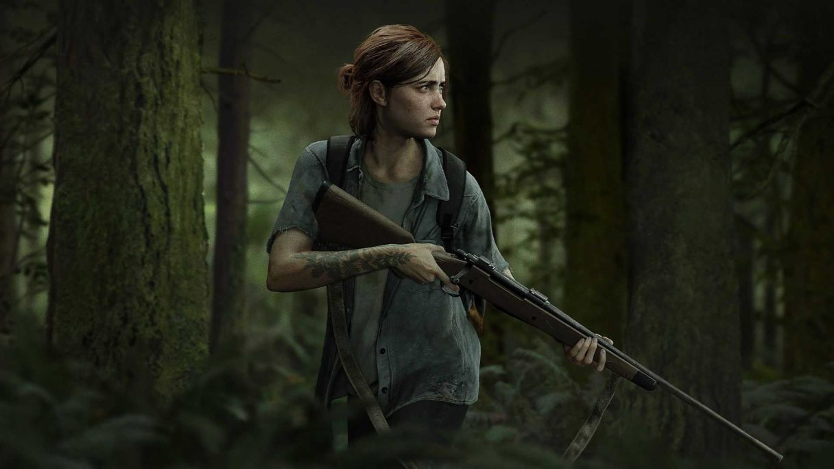 The Last of Us 2 - Ellie z bronią