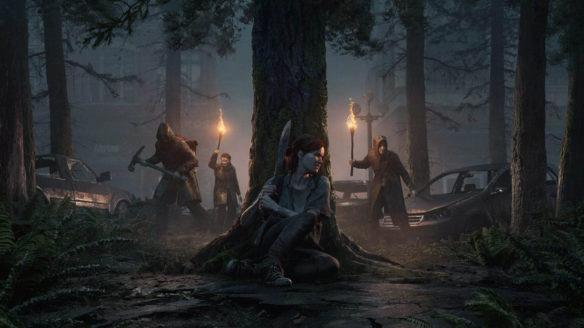 The Last of Us 2 - Ellie w lesie