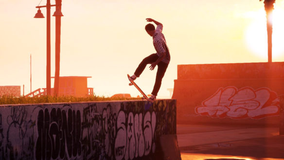 Tony Hawk's Pro Skater 1+2 - skater