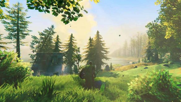 Valheim - zrzut ekranu ze zmodowanej gry
