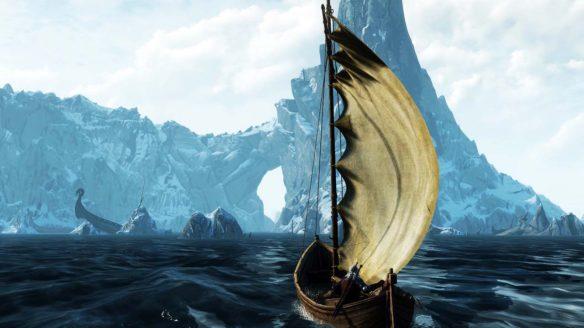 Wiedźmin 3 - Geralt na łodzi