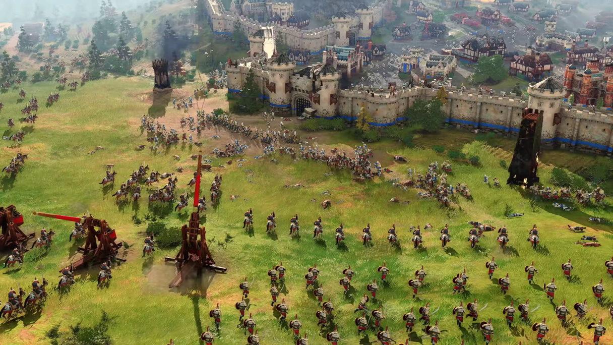 W Age of Empires 4 będą miały miejsce naprawdę ogromne bitwy