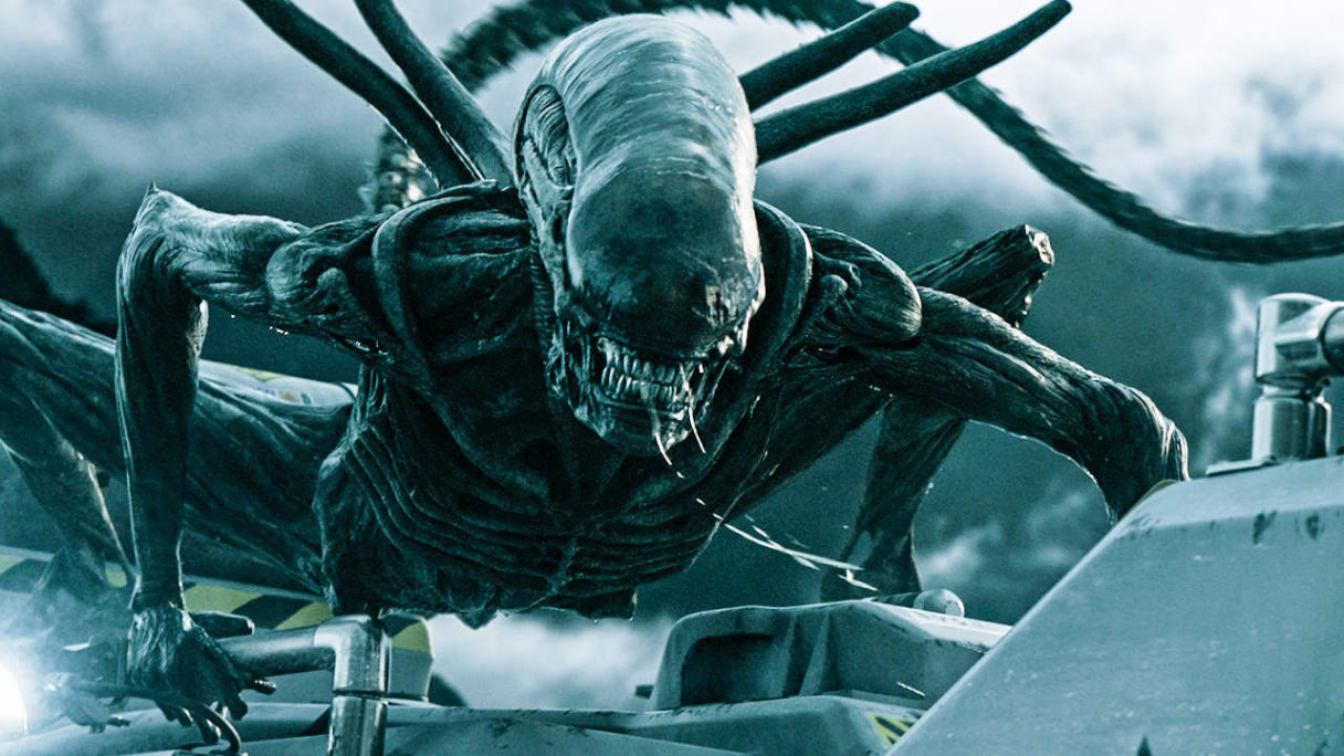Obcy, którego możemy spotkać między innymi w alien resurrection