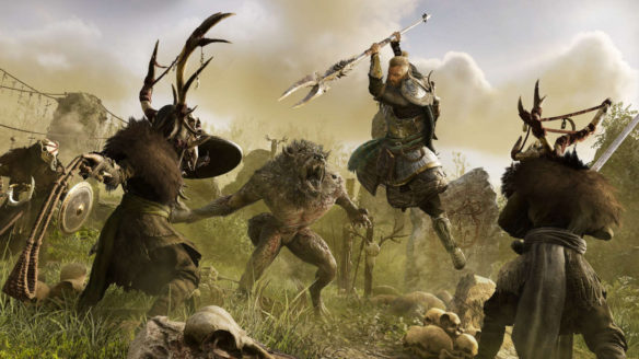 Assassin's Creed Valhalla DLC walka z potworami