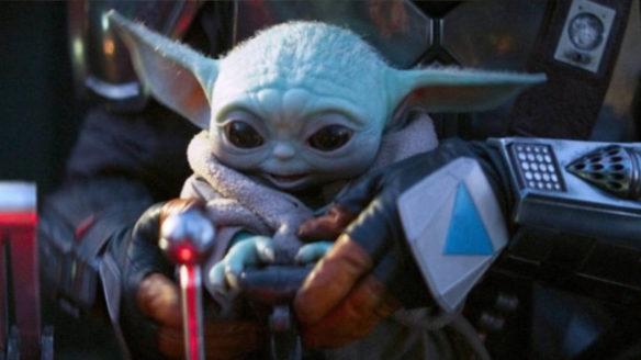 Baby Yoda z serialu The Mandalorian