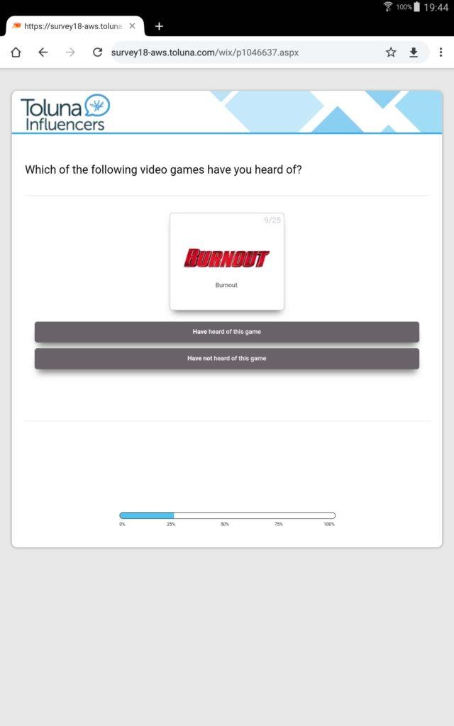Burnout - ankieta Sony 1