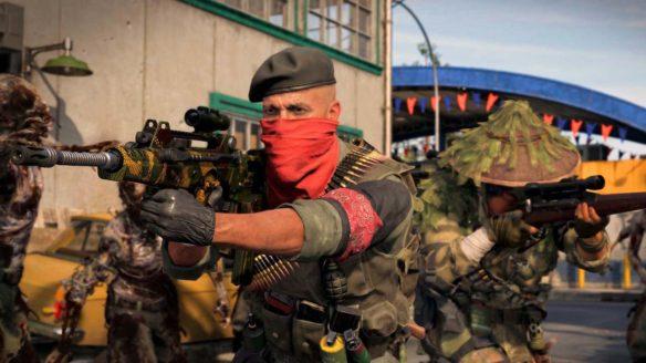 Aktualizacja Call of Duty Warzone BOCW - żołnierze