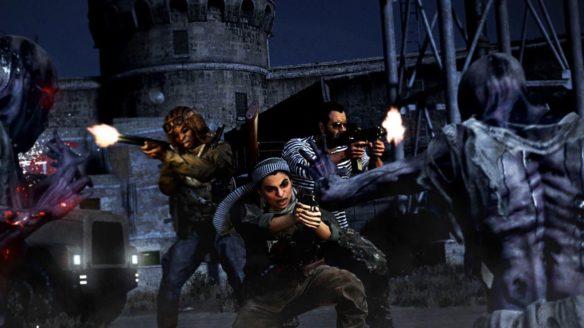 Call of Duty Warzone - gracze walczący z zombie