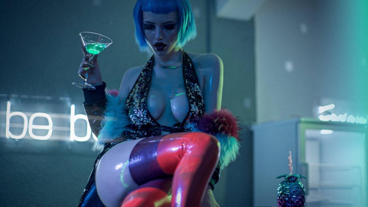 Cosplay Cyberpunk 2077