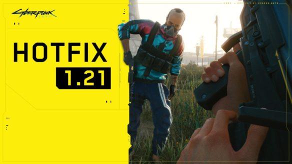 Cyberpunk 2077 hotfix 1.21 - grafika
