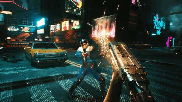 Cyberpunk 2077 - zrzut ekranu