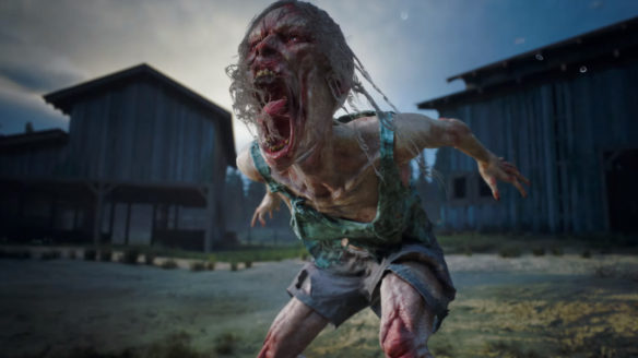Zombie z gry Days Gone produkowanej przez Sony Bend