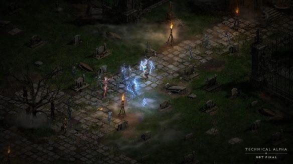 Diablo 2 Resurrected efekty specjalne