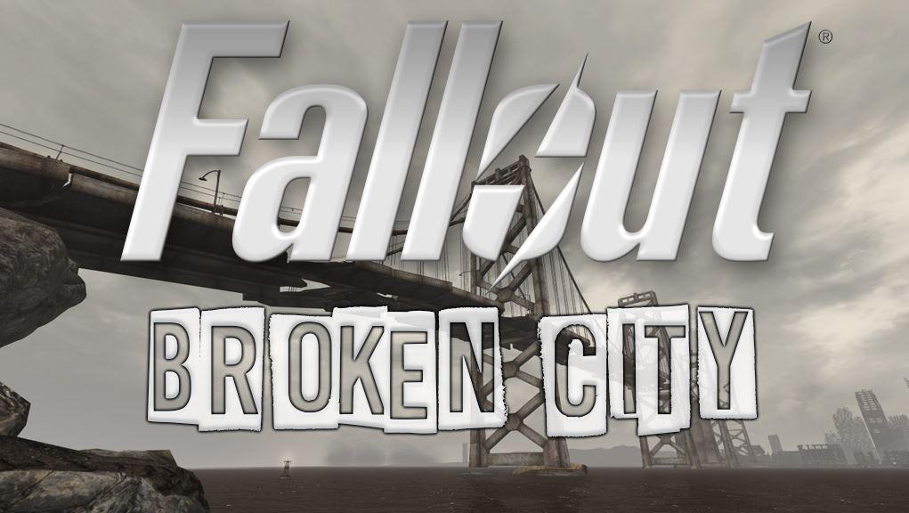 Nowy mod Broken City do Fallout New Vegas na pierwszym zdjęciu