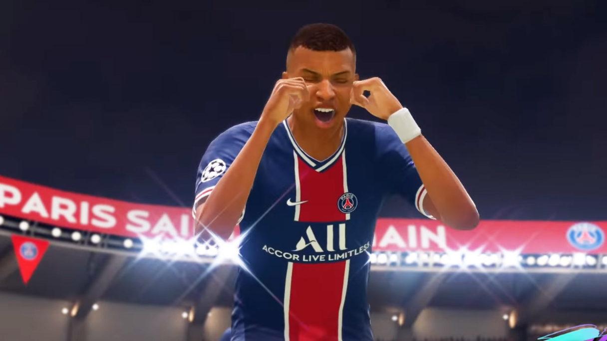 EA FIFA 22 21 - piłkarz