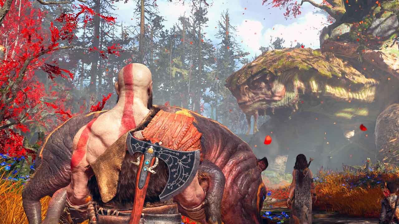 God of War - zrzut ekranu