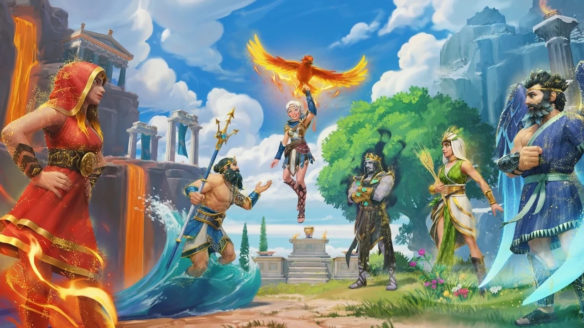Bogowie z dodatku The Lost Gods z gry Immortals: Fenyx Rising