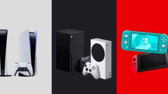 PS5, Xbox Series, Nintendo Switch - podsumowanie dnia sprzedaż konsol