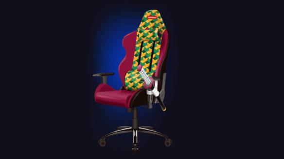 Lenovo krzesło gamingowe
