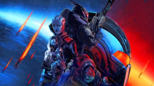 Mass Effect Legendary Edition - okładka