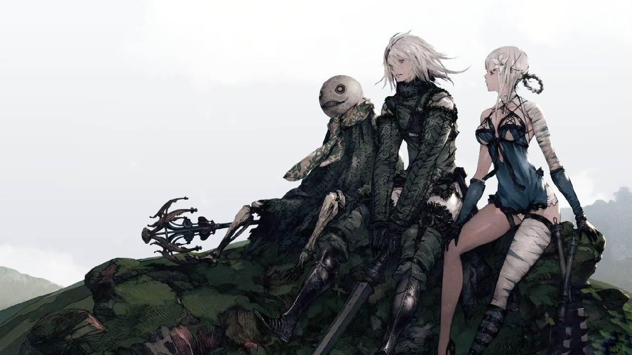 NieR: Replicant - postacie z gry