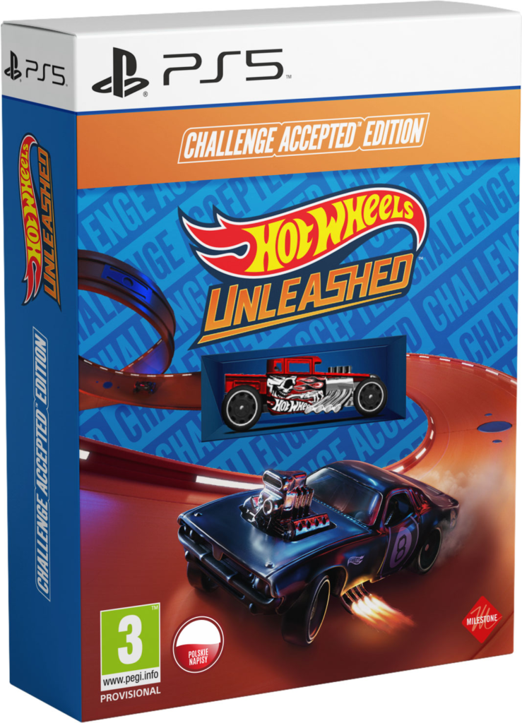 Hot Wheels Unleashed w wersji Challenge Accepted Edition