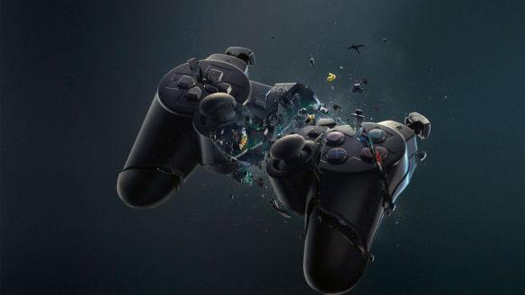 PlayStation 3 - pęknięty kontroler