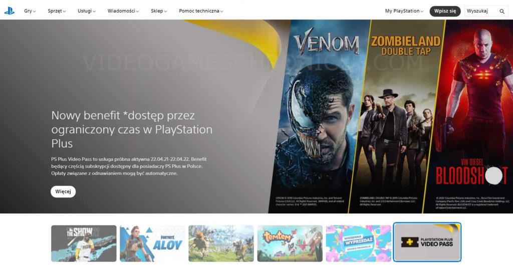 Oferta nowego PS Plus Video Pass wprowadzona przez Sony
