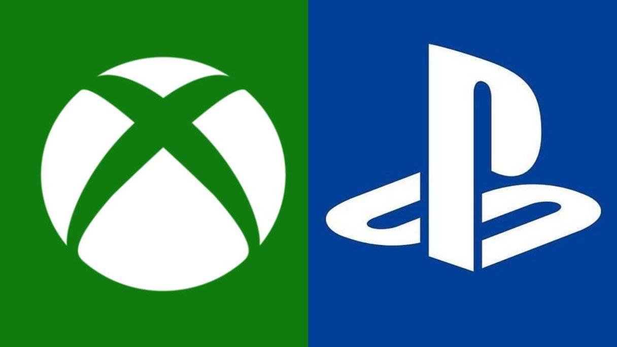 Sony PlayStation i Xbox - logo