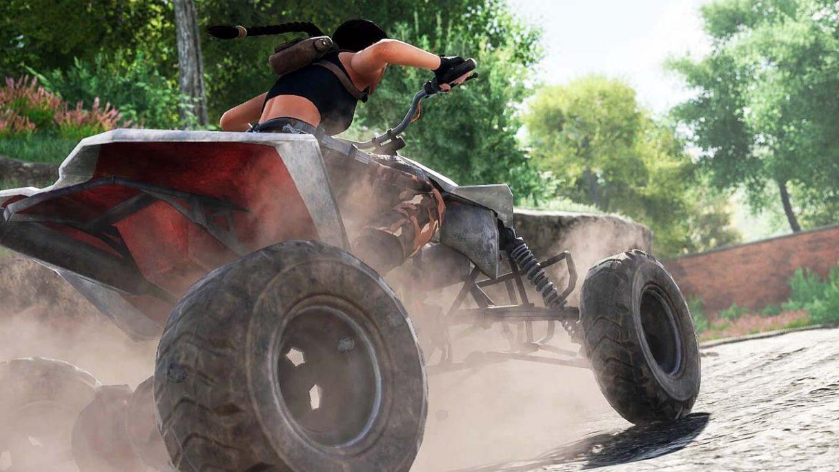 Remake Tomb Raider 2 - Lara Croft na quadzie