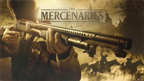 Okładka trybu The Mercenaries z Resident Evil Village