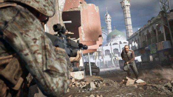 Six Days in Fallujah - zrzut ekranu
