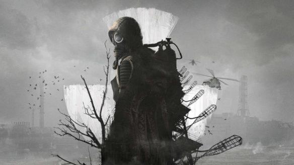 STALKER 2 - bohater gry w masce gazowej