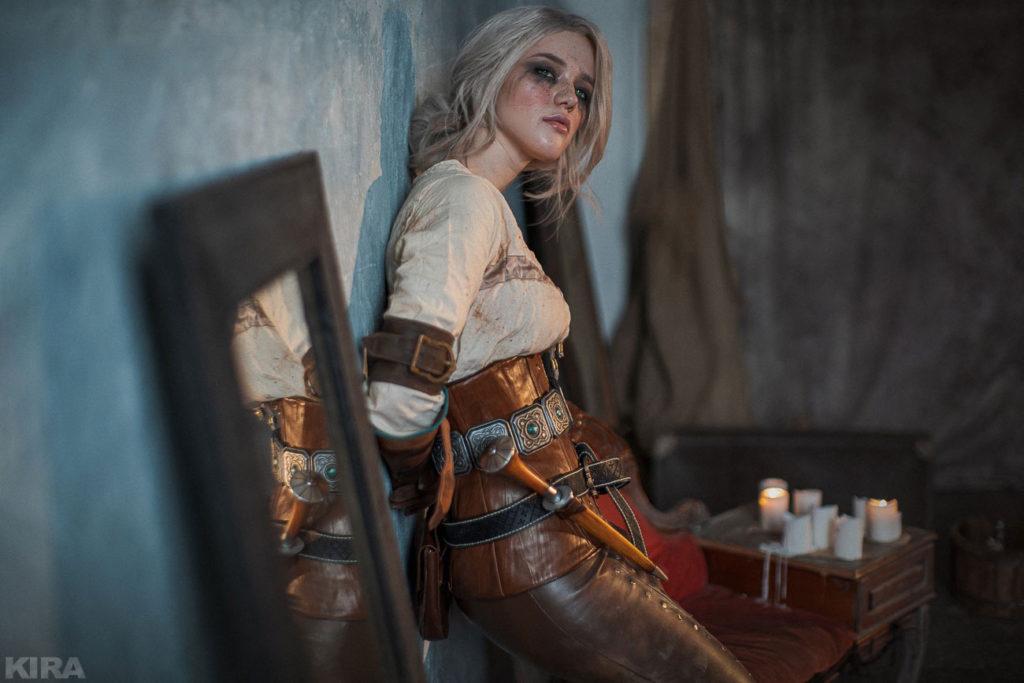 Wiedźmin 3 cosplay z Ciri