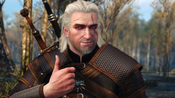 Wiedźmin 3 - Geralt daje lajka