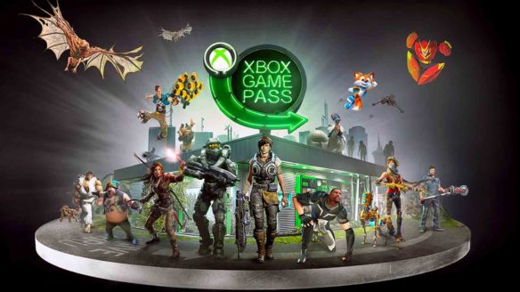 Xbox Game Pass- grafika