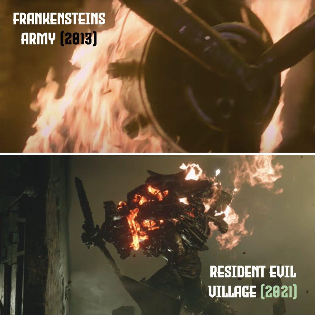 Resident Evil Village - splagiatowany stwór