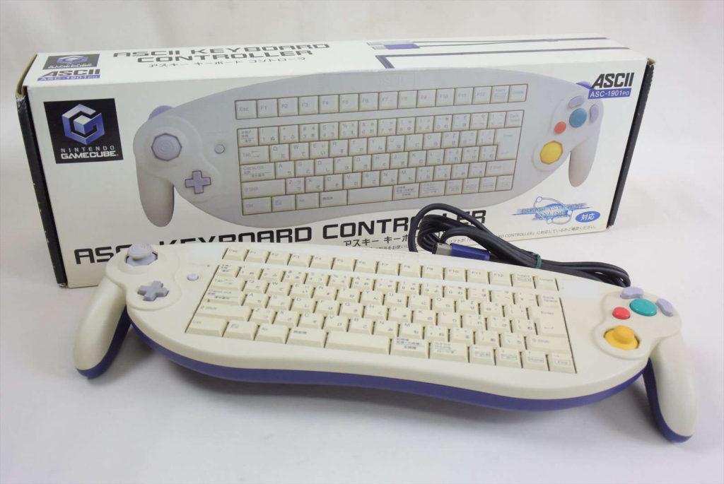 ASCII Keyboard Controller dla Game Cube